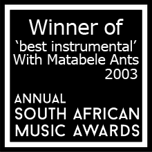 Winner of SAMA 2003 with Matabele ants